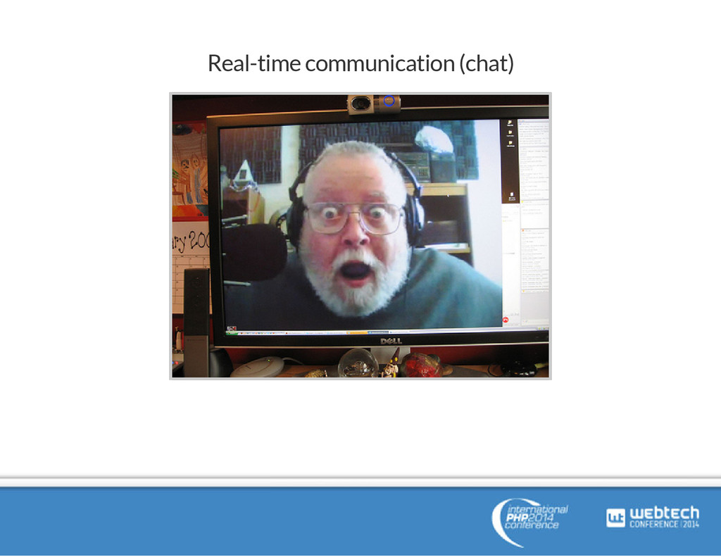 Real-time communication (chat)