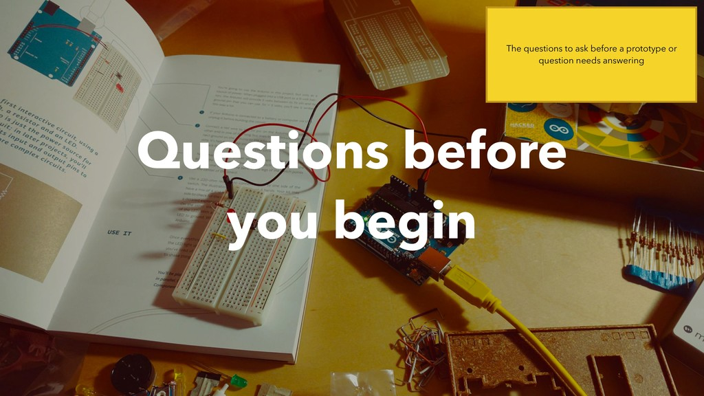 Questions before  you begin The questions to a...