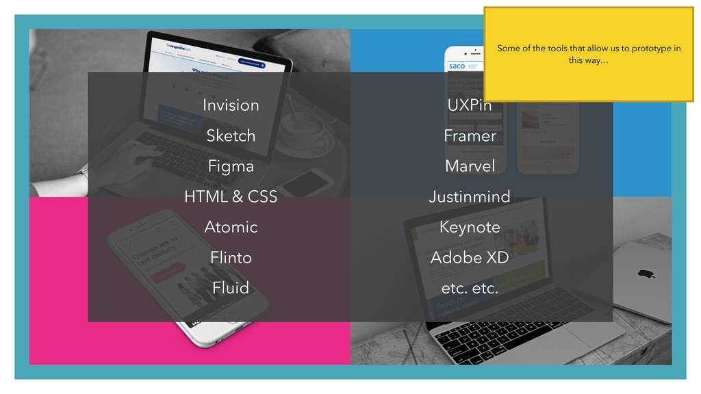 Invision Sketch Figma HTML & CSS Atomic Flinto ...