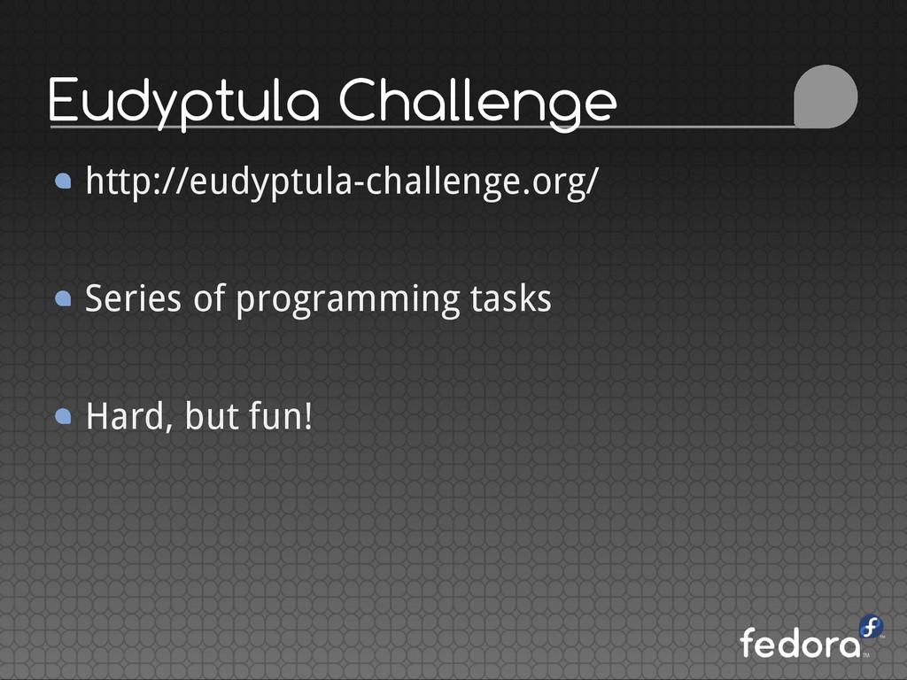 Eudyptula Challenge http://eudyptula-challenge....
