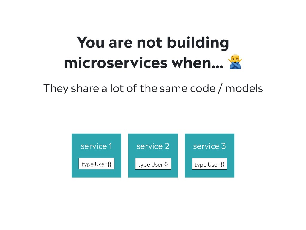They share a lot of the same code / models You ...