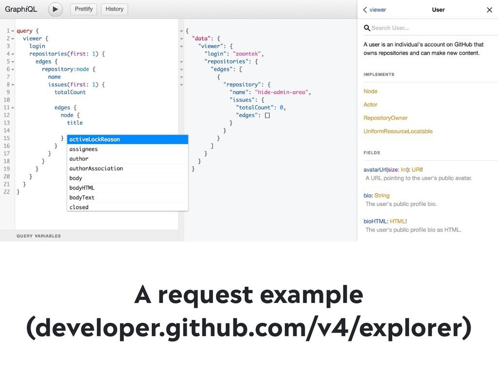 A request example (developer.github.com/v4/expl...