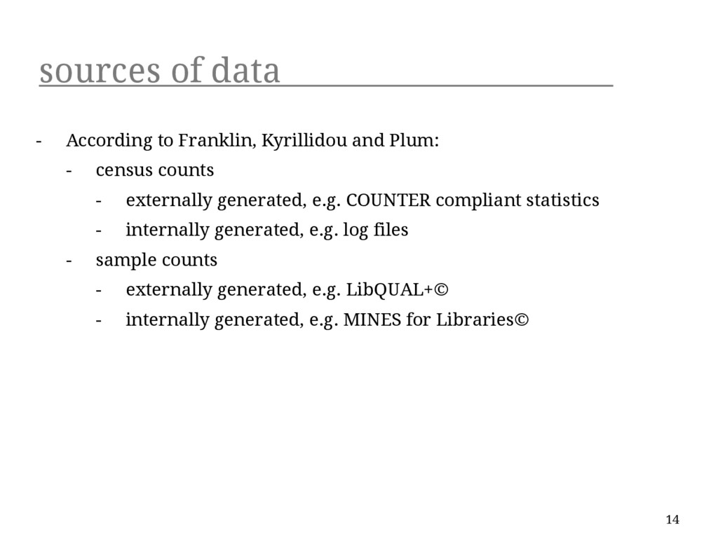 sources of data - According to Franklin, Kyrill...