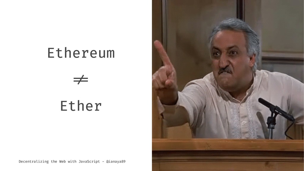"""Ethereum !"""" Ether Decentralizing the Web with J..."""