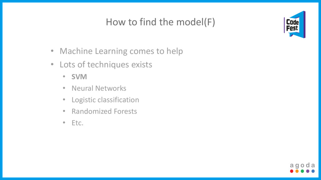 How to find the model(F) • Machine Learning com...