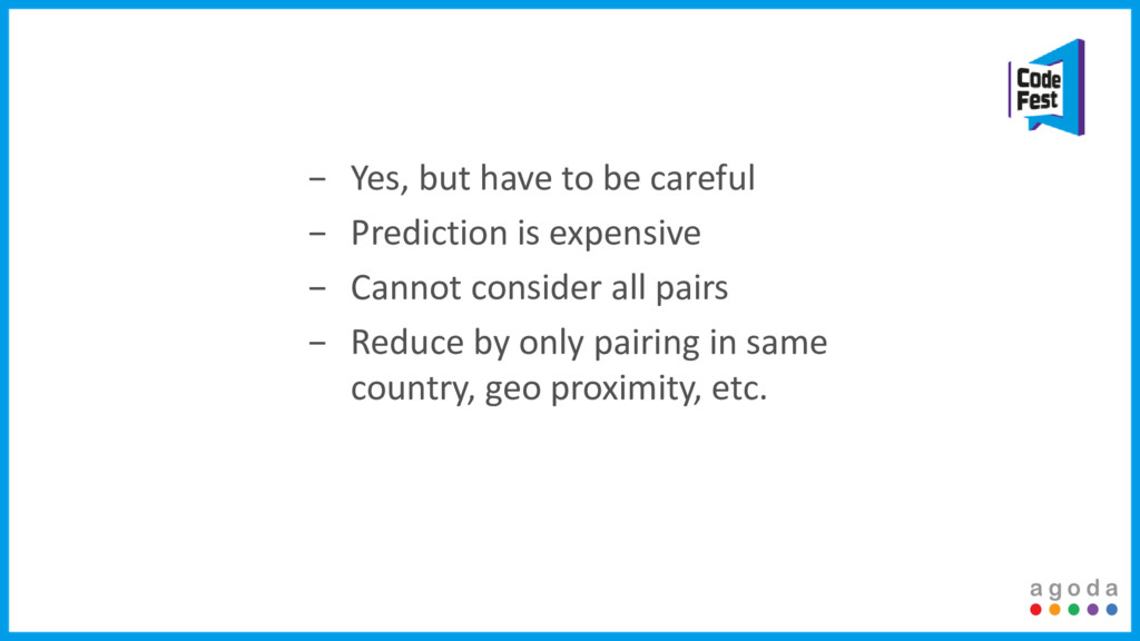 − Yes, but have to be careful − Prediction is e...
