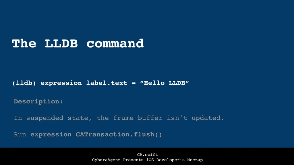CA.swift CyberaAgent Presents iOS Developer's M...