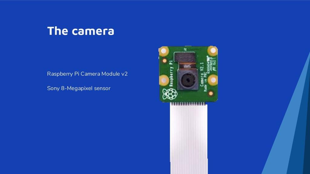 The camera Raspberry Pi Camera Module v2 Sony 8...