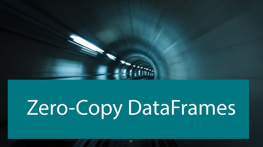 17 Zero-Copy DataFrames