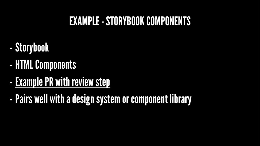 EXAMPLE - STORYBOOK COMPONENTS - Storybook - HT...
