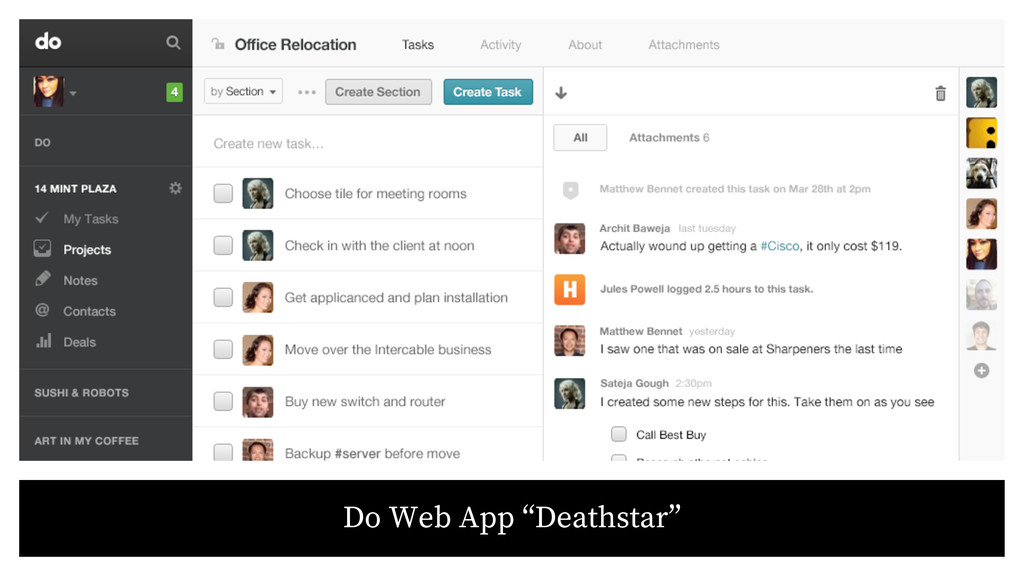 """Do Web App """"Deathstar"""""""