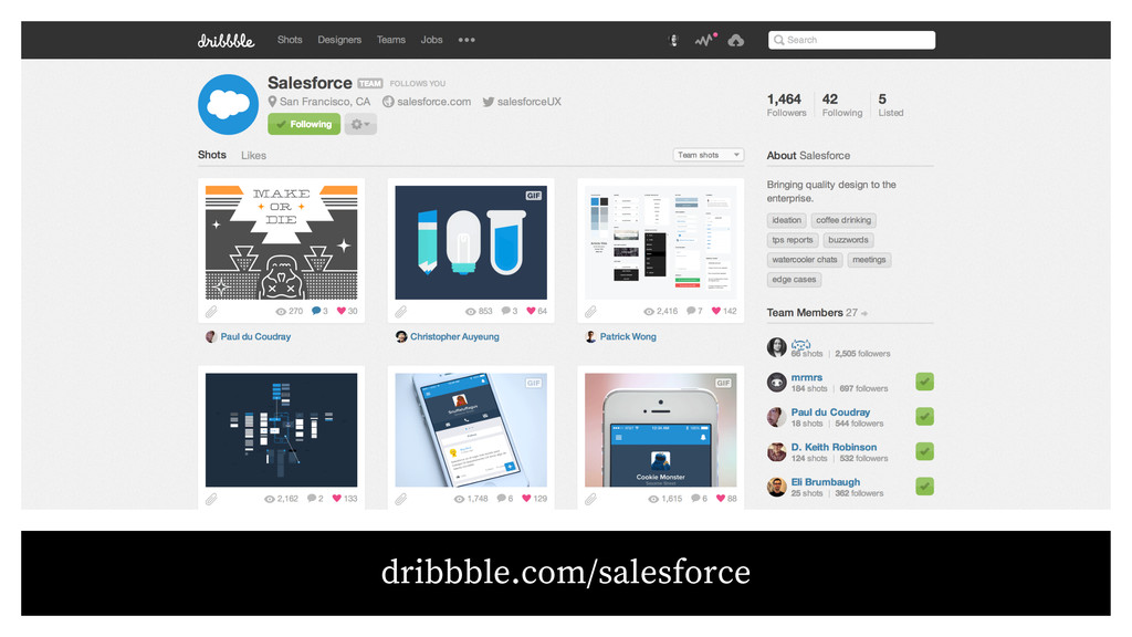 dribbble.com/salesforce