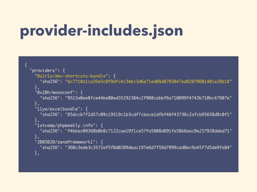"provider-includes.json { ""providers"": { ""0s1r1s..."