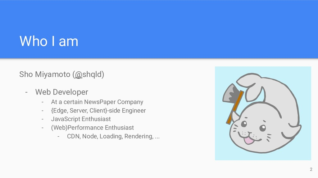 Sho Miyamoto (@shqld) - Web Developer - At a ce...