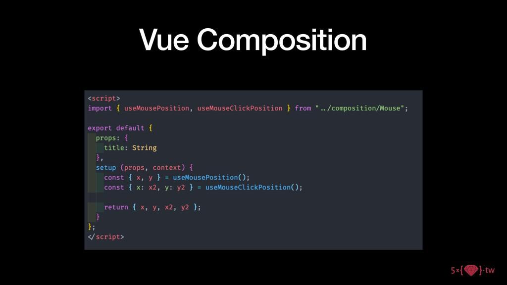 Vue Composition