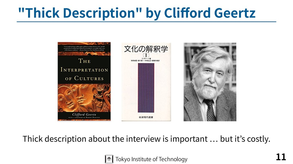 """Thick Description"" by Clifford Geertz 11 Thick ..."
