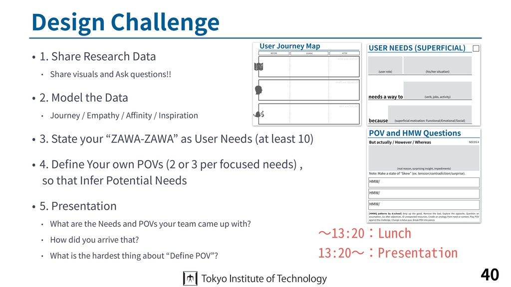 Design Challenge • 1. Share Research Data • Sha...