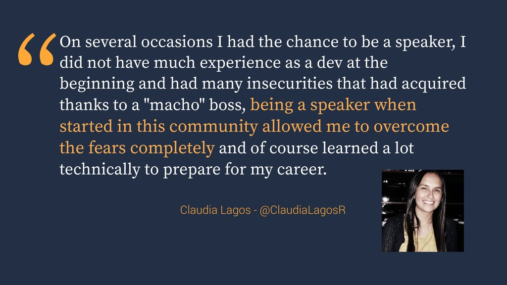 """""""On several occasions I had the chance to be a ..."""