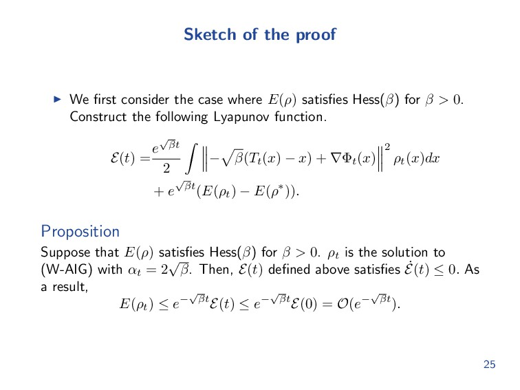Sketch of the proof We first consider the case w...