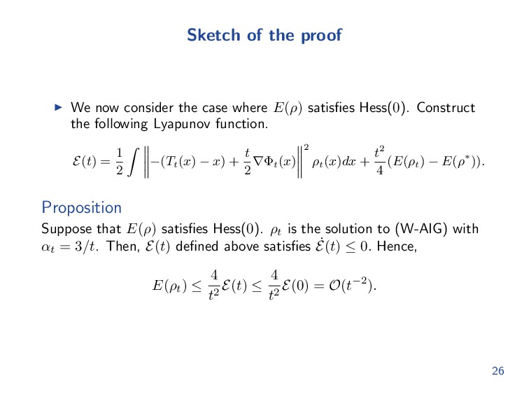 Sketch of the proof We now consider the case wh...