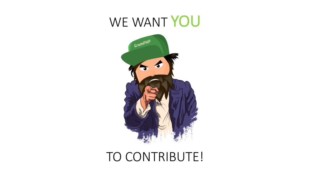 TO CONTRIBUTE! WE WANT YOU
