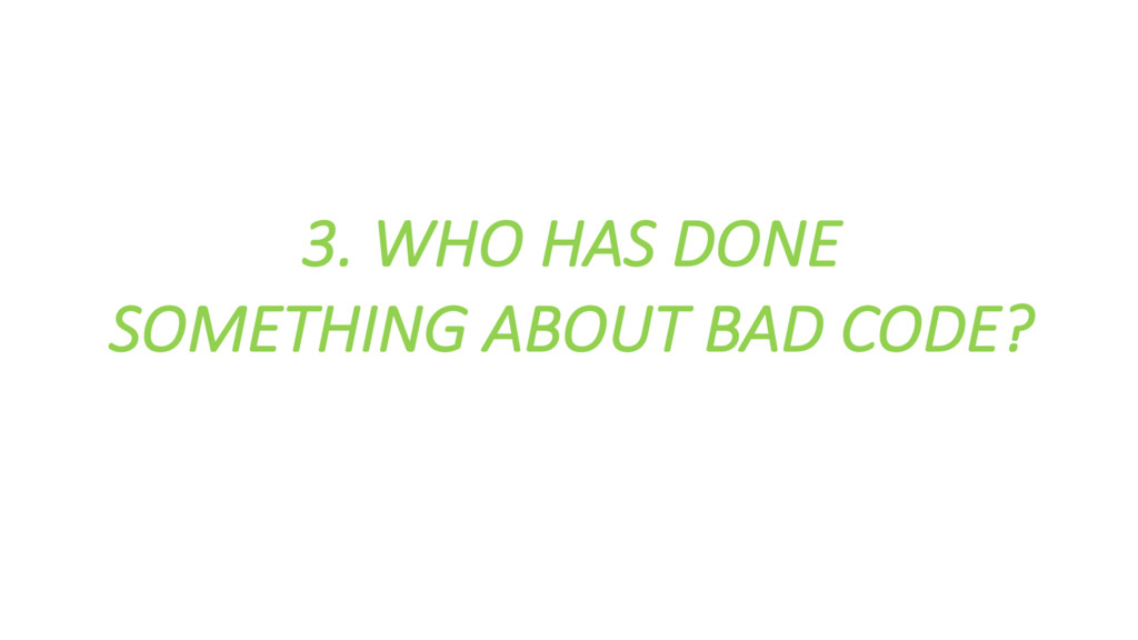 3. WHO HAS DONE  SOMETHING ABOUT...