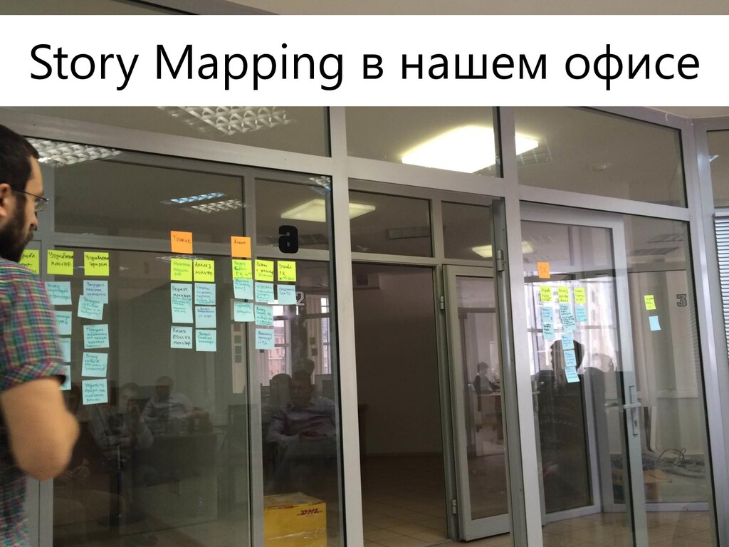19 Story Mapping Story Mapping в нашем офисе