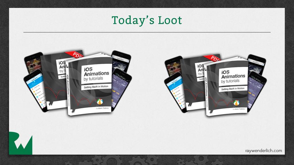 Today's Loot