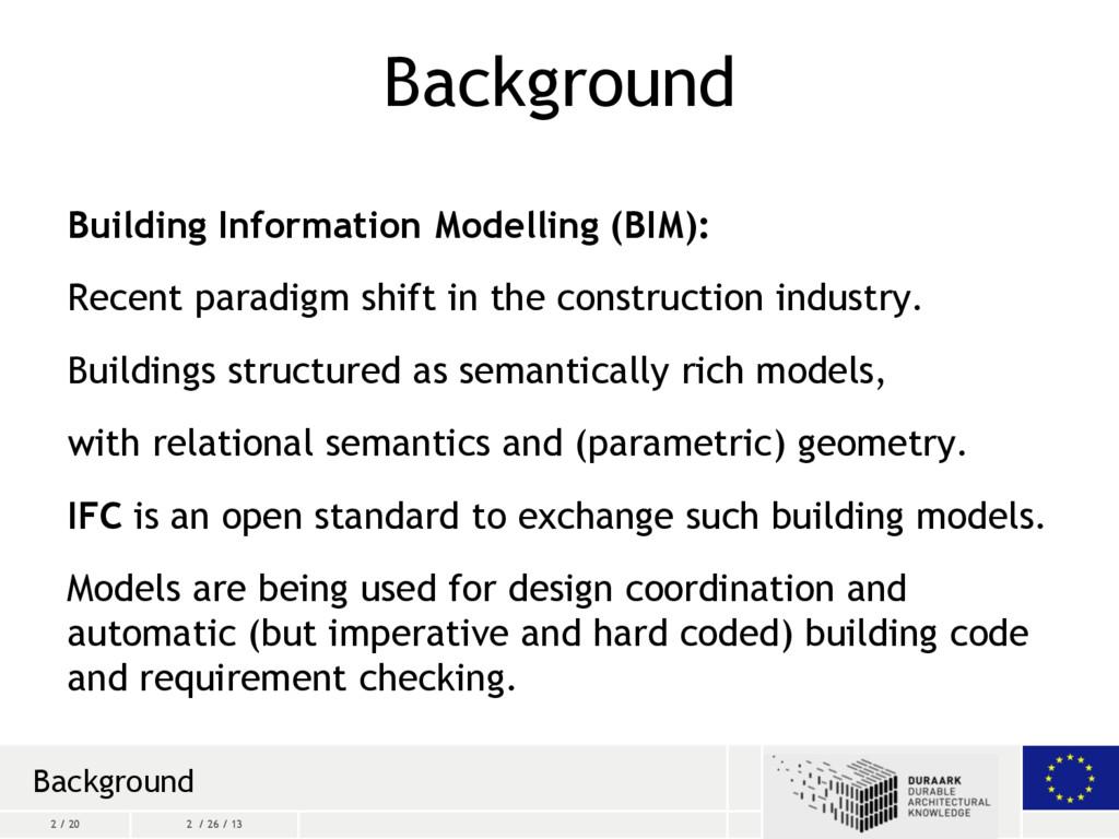 2 / 20 2 / 26 / 13 Background Building Informat...