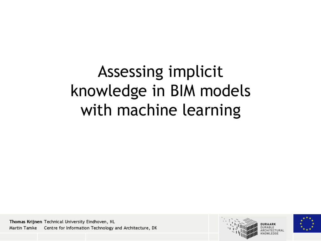 22 / 20 2 / 26 / 13 Assessing implicit knowledg...