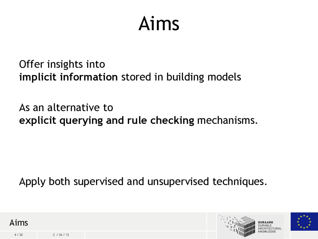 4 / 20 2 / 26 / 13 Aims Offer insights into imp...