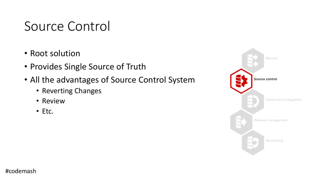 Source Control • Root solution • Provides Singl...