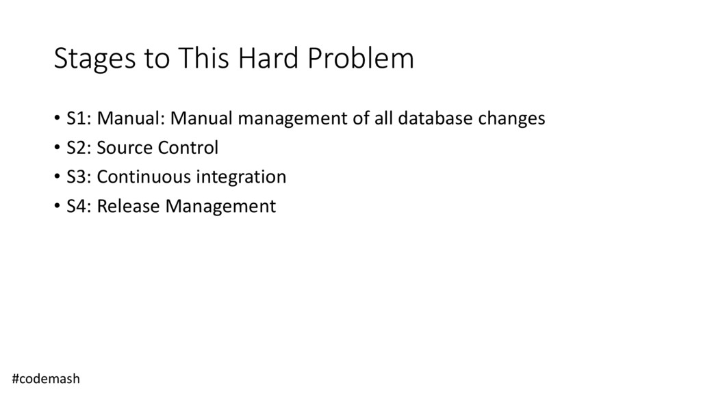 Stages to This Hard Problem • S1: Manual: Manua...