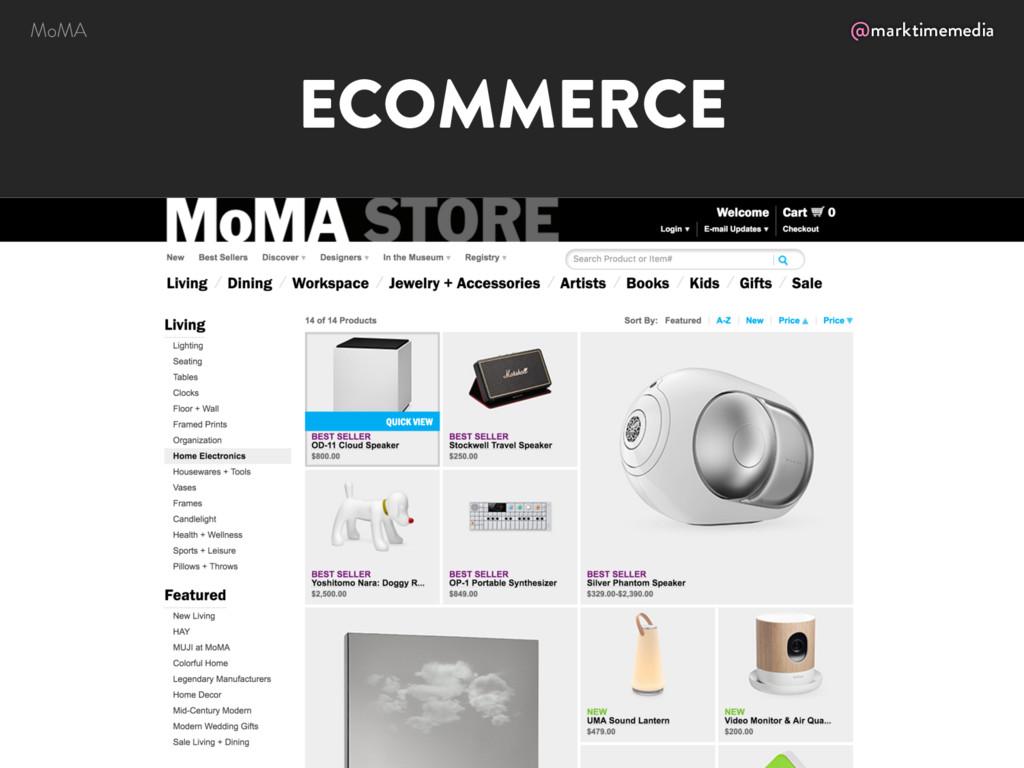 @marktimemedia ECOMMERCE MoMA