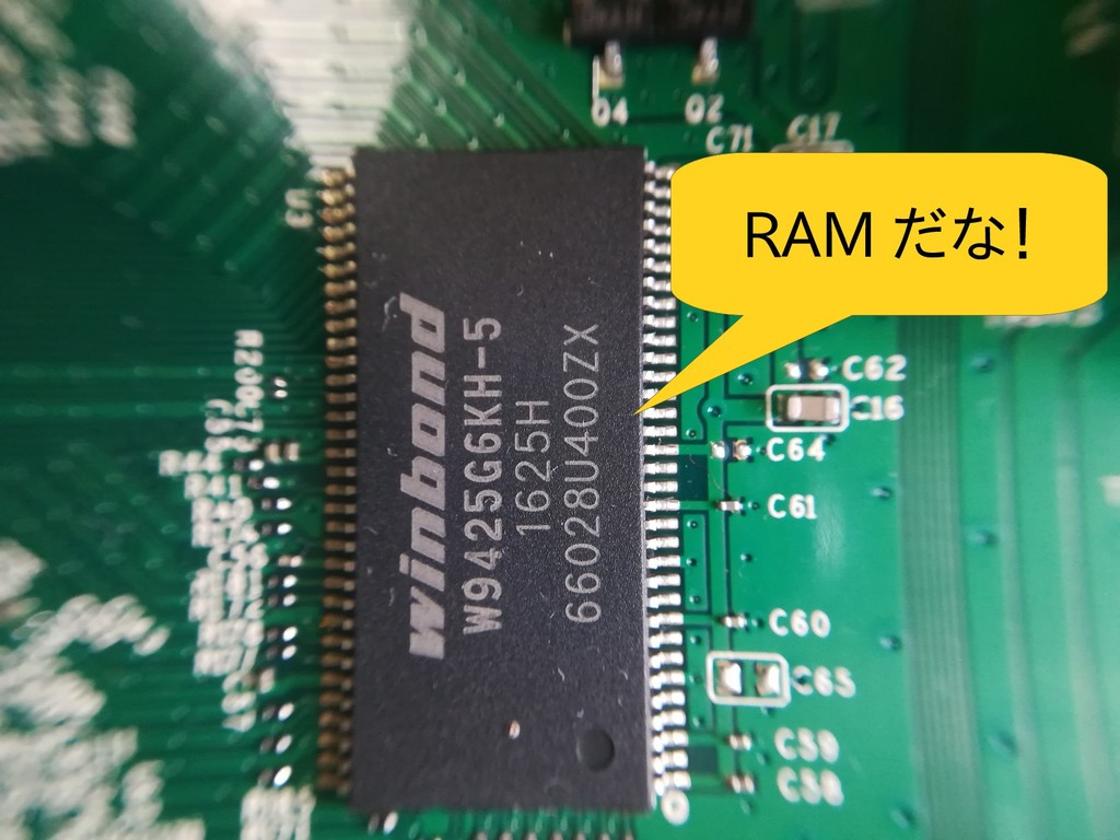 RAM だな!