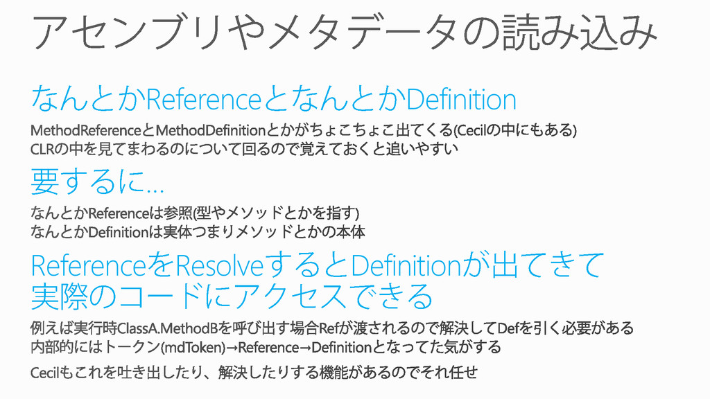 Reference Definition … Reference Resolve Defini...