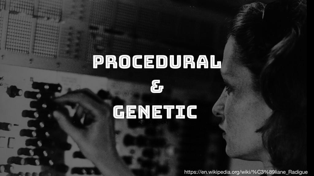 Procedural Property based testing (Quickcheck) ...