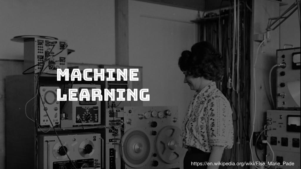 Machine Learning https://en.wikipedia.org/wiki/...