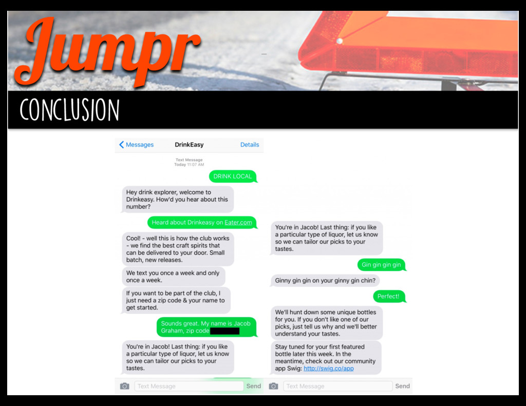 Jumpr conclusion