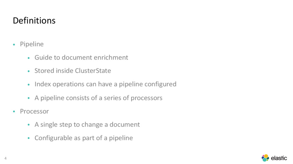 4 Definitions • Pipeline • Guide to document en...