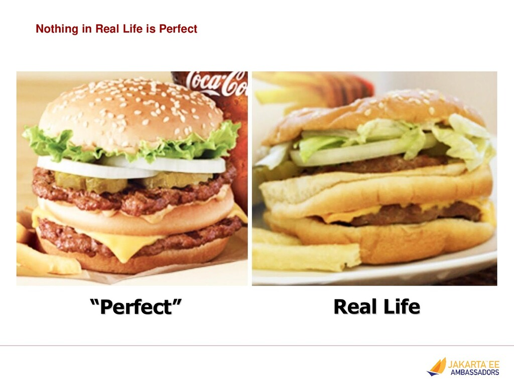 "Nothing in Real Life is Perfect ""Perfect"" Real ..."