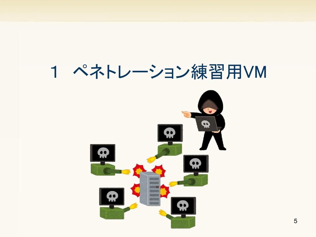 5 1 ペネトレーション練習用VM