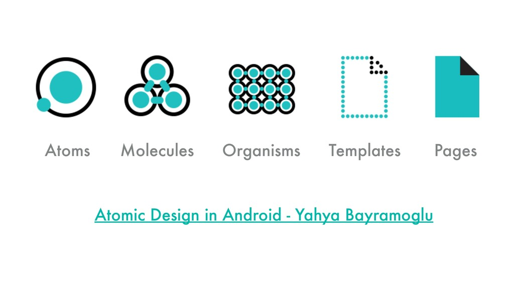 Atoms Molecules Organisms Templates Pages Atomi...