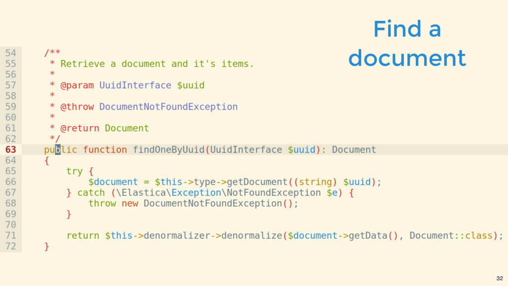 Find a document 32