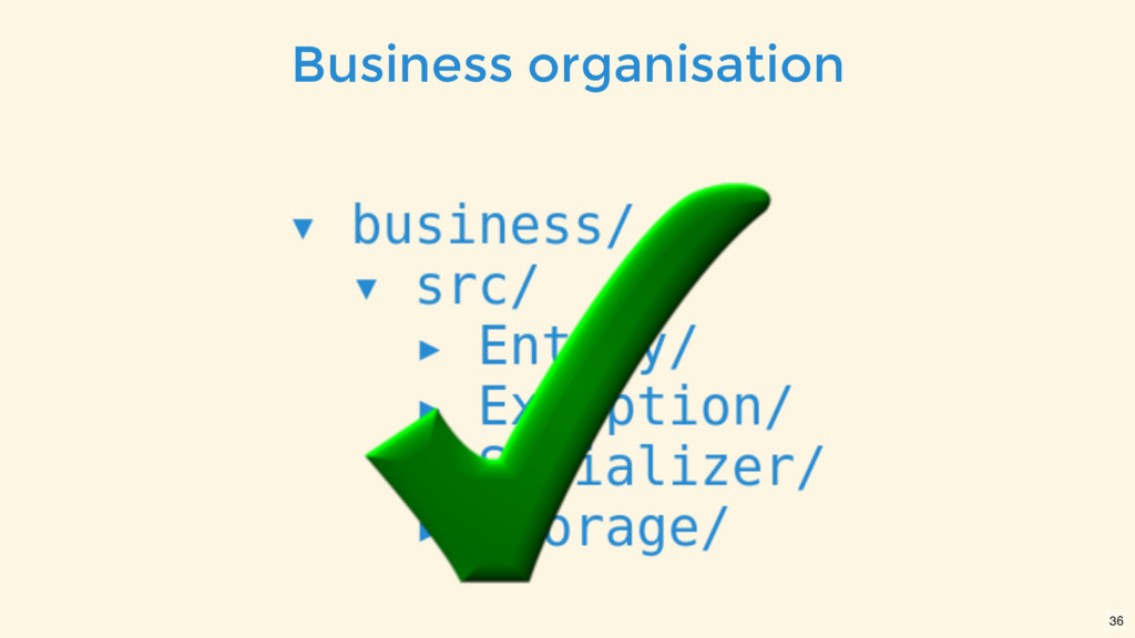 Business organisation 36
