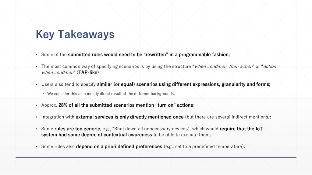 Key Takeaways ▪ Some of the submitted rules wou...