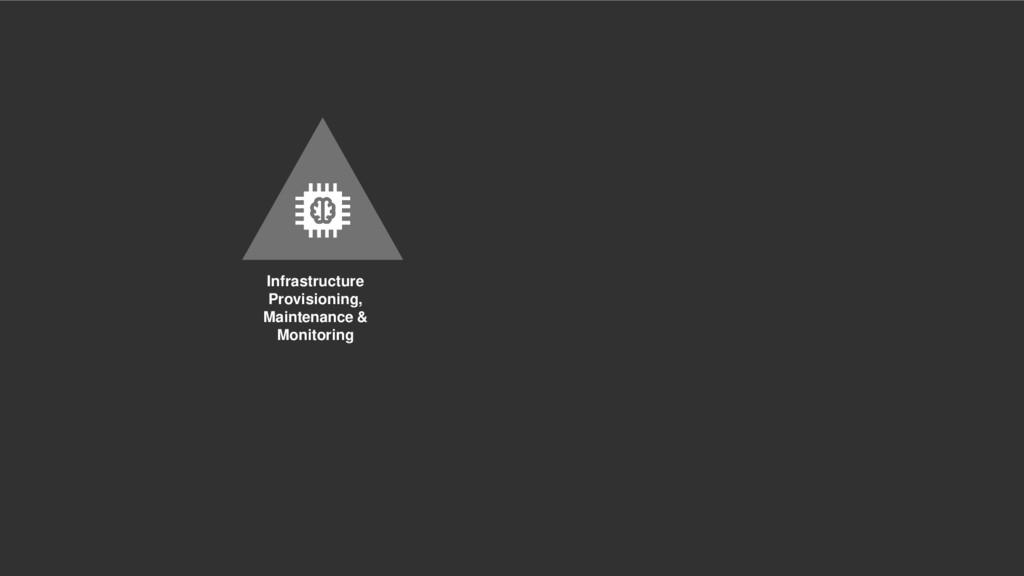 Infrastructure Provisioning, Maintenance & Moni...