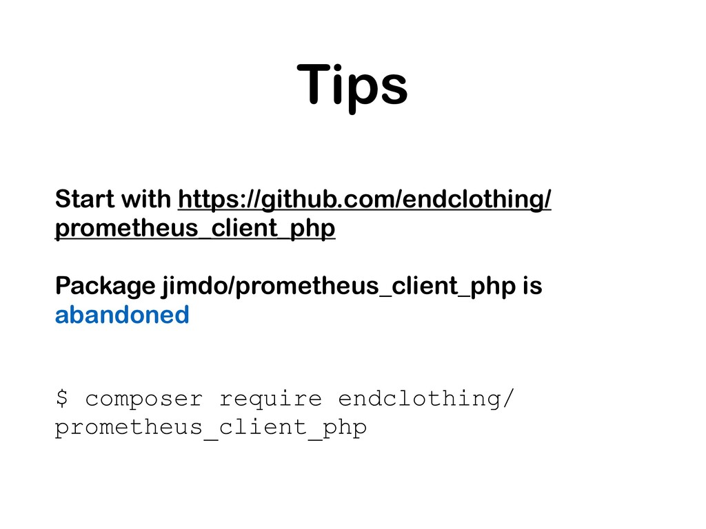 Tips Start with https://github.com/endclothing/...