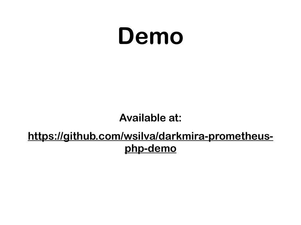 Demo Available at: https://github.com/wsilva/da...
