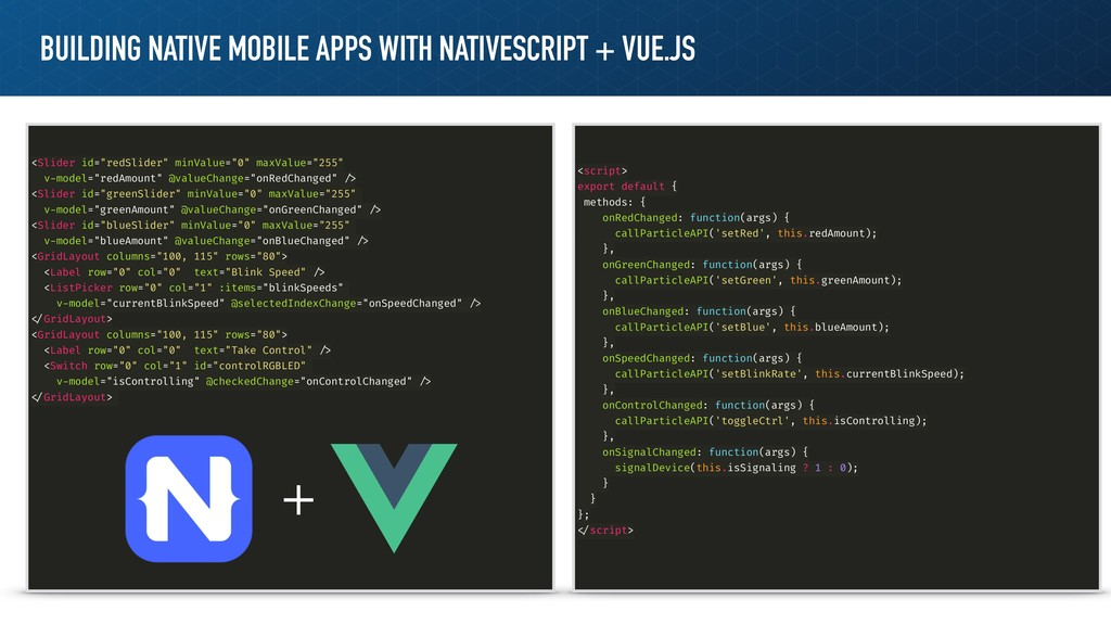 BUILDING NATIVE MOBILE APPS WITH NATIVESCRIPT +...